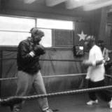 Sparring - Ann Wolfe and James Kirkland